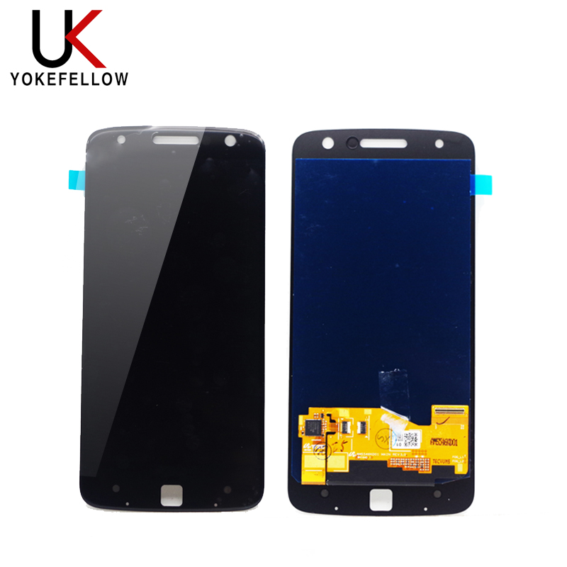 Super AMOLED LCD Display For Motorola Moto <strong>Z</strong> Play XT1635 XT1635-02 LCD Touch Screen Replacement Display