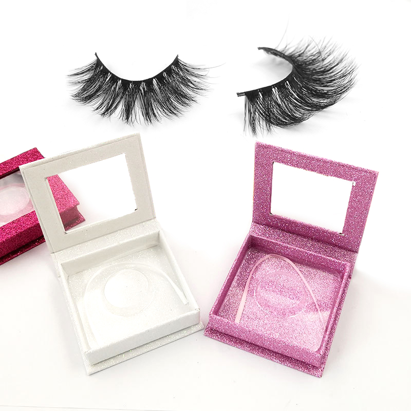 Wholesale 100% Mink Eyelashes Real 3D Mink Eyelashes with custom <strong>box</strong> your own brand