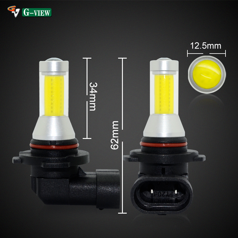 G-View Automobile accessories <strong>H10</strong>/9145/9140 White Light LED Fog Light <strong>Bulbs</strong> White 6000K