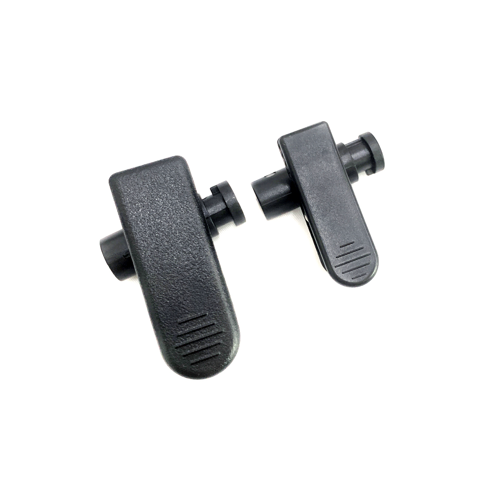 earpiece accessories Clothing clip for cable diameters 2.0mm to 5mm (2 sizes for choosing)