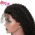 Afro Raw Indian Cuticle Aligned Human Hair Kinky Curly Short Lace Front Wig For Black Women