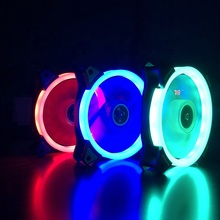 120mm cpu LED axial 6 inch computer cooling pc fan 120x120x25mm led <strong>rgb</strong> for gaming case