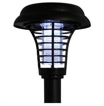 Solar Powered Outdoor Waterproof <strong>LED</strong> Pest Bug Zapper <strong>Insect</strong> Killer Lamp for Garden Patio