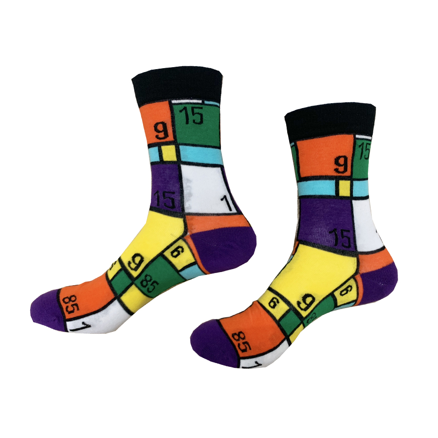 China Wholesale Men Custom Cotton Colorful Happy Dress Socks