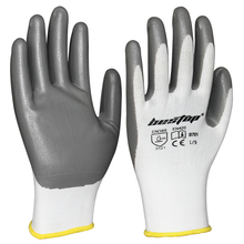 Seeway 13-gauge Seamless Knitting Nitrile Coated Oil Resistant Industrial <strong>Safety</strong> Working Gloves