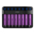 Wholesale Factory Efest Lush Q8 Charger 8 Bay Slot Charger for Rechargeable Battery