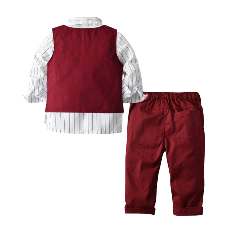 Wholesale clothing baby china formal set fashion baby boy clothes sets