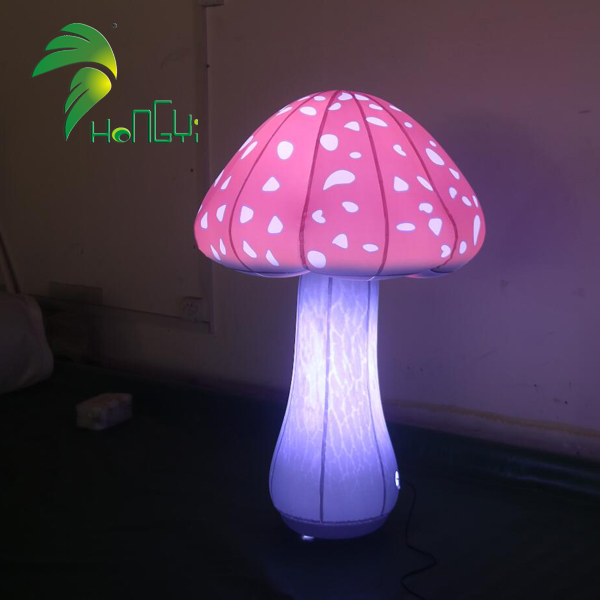 Hot Sale Inflatable Mushroom Inflatable Light Attractive Inflatable led Balloon For Outdoor Decoration