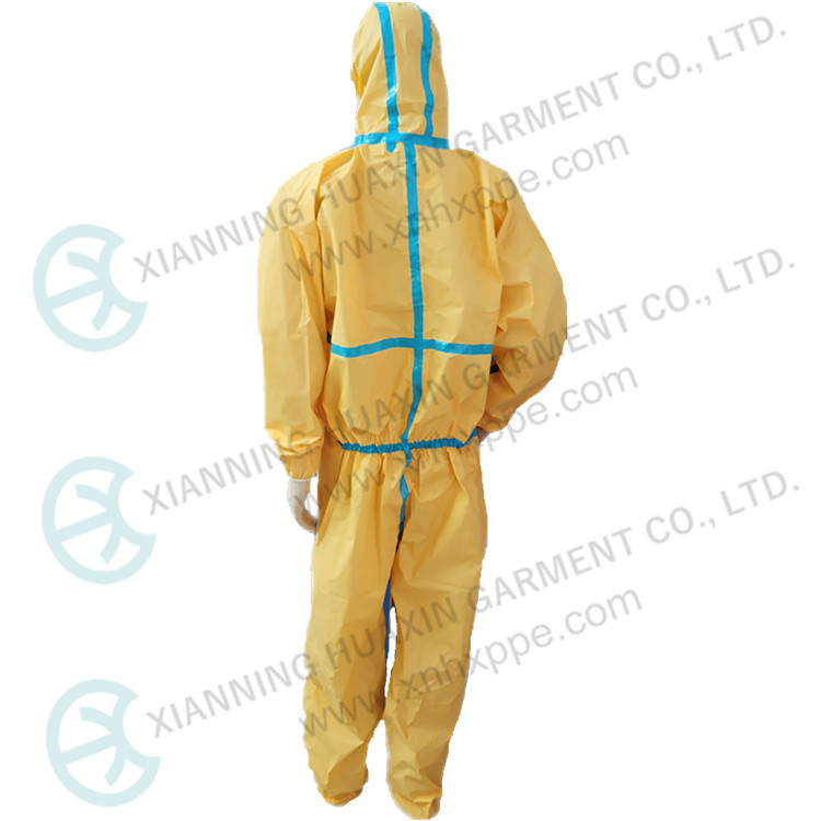 TYPE3 CE Certificate Oil Resistant Protection Coverall