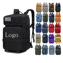 45L Rucksacks Hiking Trekking Hunting Travel Outdoor Sport GYM Fitness Army Military Tactical Backpack