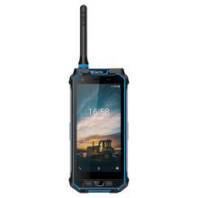 Android 8.1 Long Distance Walkie Talkie Smartphone with B-code /2D Scanner