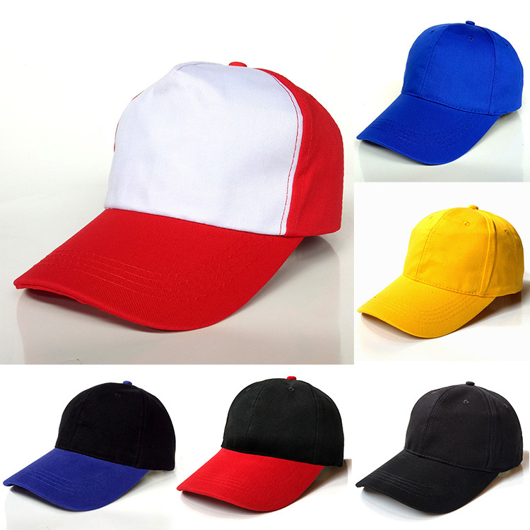 Red Flex Fit Wholesale K Product Hat Puff Embroidery 3D Logo Custom Baseball Cap