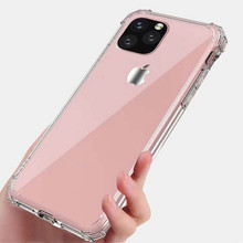 For iPhone 11 pro max <strong>Case</strong> Slim TPU Rubber transparent crystal Clear Custom Phone <strong>Case</strong> for iPhoneXs XS Max Xr