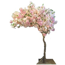 weeping tree decoration cherry blossom branch artificial flower trees pink faux cherry blossom tree white large silk <strong>sakura</strong>