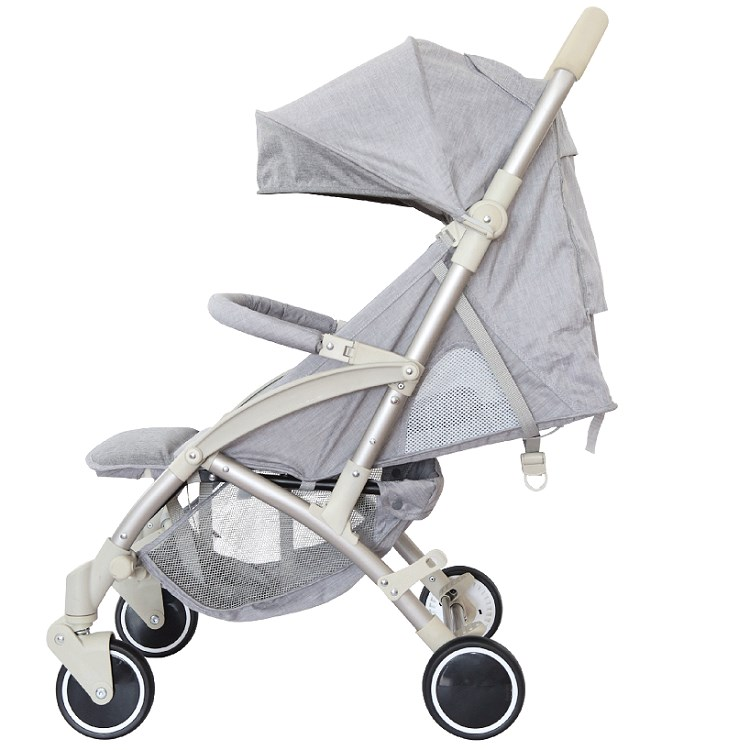 Factory Supply Easy Foldable European Airplane Lightweight Baby Stroller