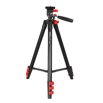 KINGJOY Flexible Lightweight DSLR Video Camera Aluminium Digital Tripod for Camera and Camcorder
