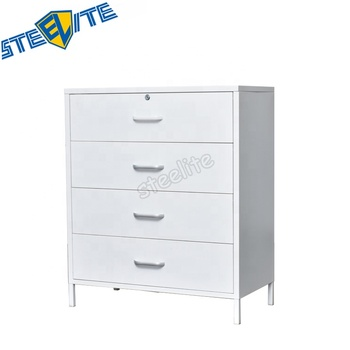 Modern Living Room Furniture Steel 4 Drawers Bucket Cabinet