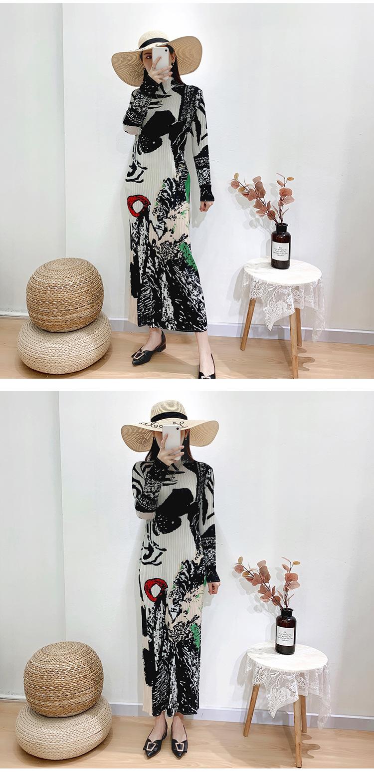 women clothing dress women apparel summer dresses Summer printed elegant casual dress