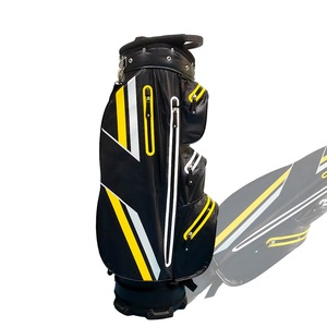 Customize Waterproof Nylon PU Leather golf cart bag