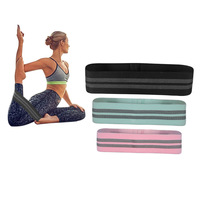 Super Popular Custom Color Fitness Yoga Workout Resistance Bands with High Elasticity
