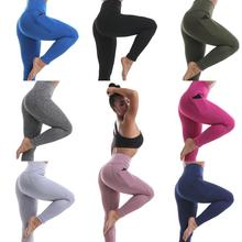 New Fashion Style Workout Leggings For Women Side Pocket Sportswear Yoga Pants Manufacturer