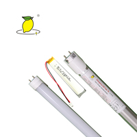 t8 emergency led tube/ 9-18w battery backup t8 led emergency tube lights/emergency t8 tube with battery duration 1-3 hours