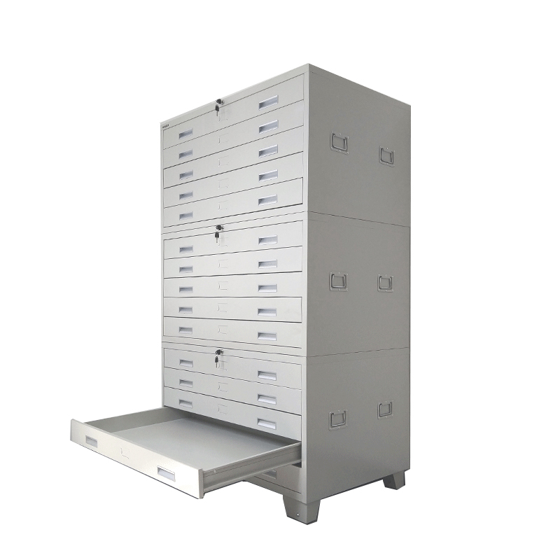 Factory Price Office equipment durable <strong>mobile</strong> 5 drawer steel engineering drawing map storage cabinet