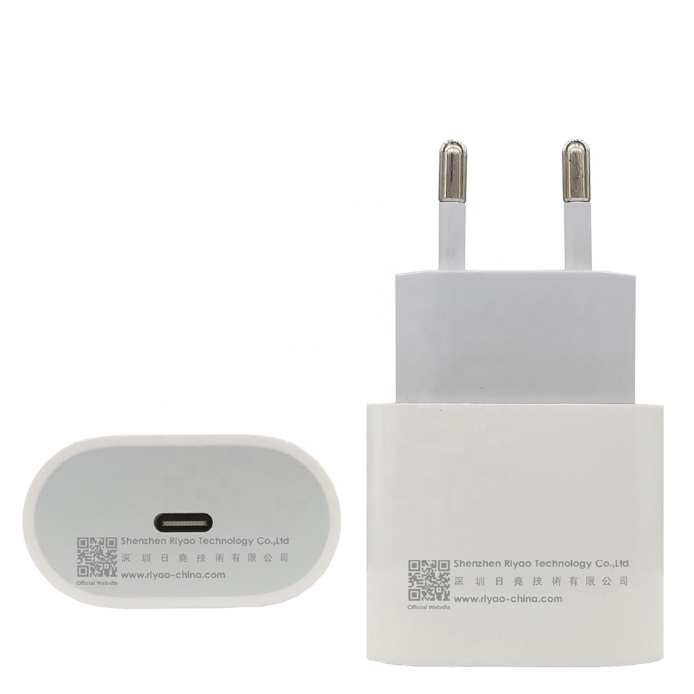 New 18W Type <strong>C</strong> EU US Plug Mobile Device Portable Charger Adapter PD USB <strong>C</strong> Port fast charge For Apple iPhone <strong>11</strong> pro max