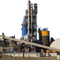 high efficient dry process rotary kiln cement calcining plant