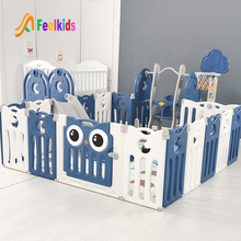 Hot sell multifunctional new design safety Kids plastic indoor play yard fence baby playpen