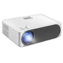 AUN Full HD Projector AKEY6, 1920x1080P, 6800 Lumens AC3 Decoding, LED Projector For Home Cinema, 3D Beamer