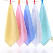 Stock product Wholesale cotton baby white hand towel baby saliva towel baby towel gift <strong>set</strong>