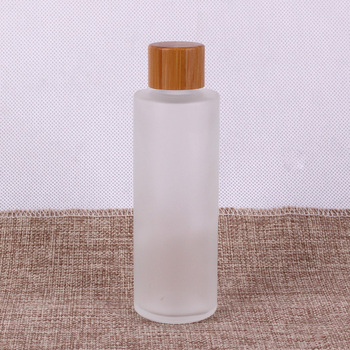 Korean essence packaging glass body lotion bottle pump container