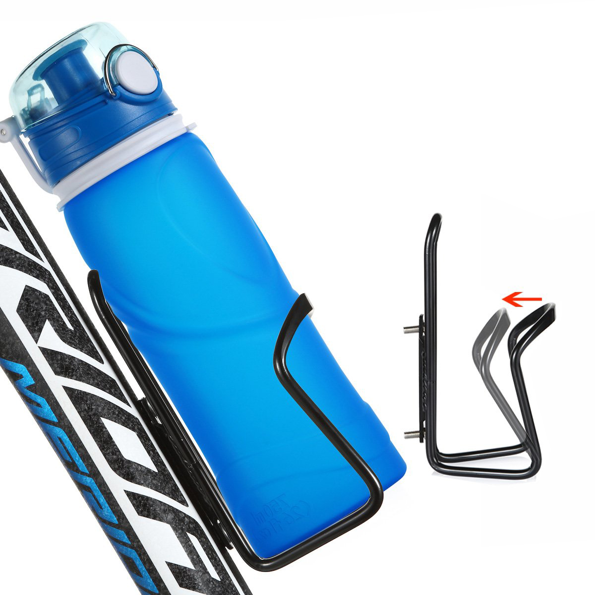 Bicycle Alloy Aluminum Light weight Water Bottle Holder For Bike