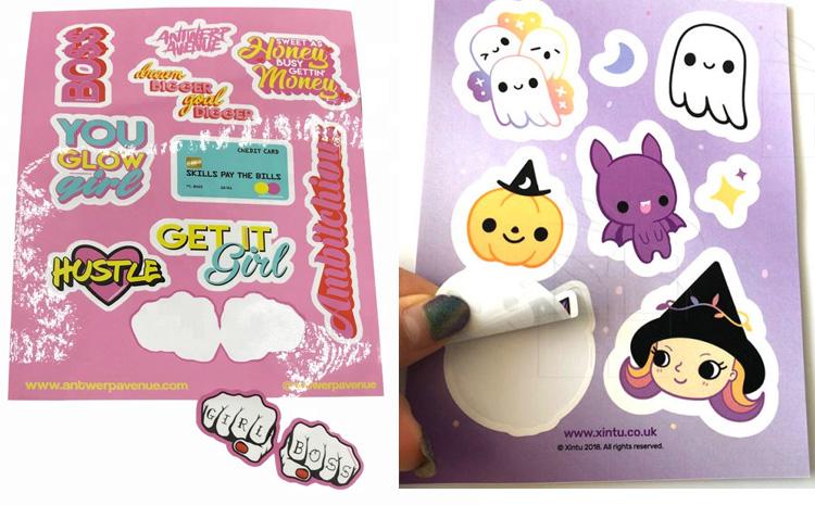 Custom Kiss Cut Stickers Die Cut Stickers Waterproof