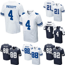 High quality custom football wear embroidery shirts football nfl jersey