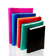 23 x37cm solid colors Stretchable fabric book covers for Amazon