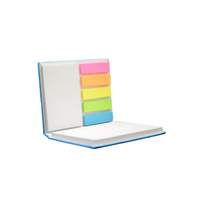 Customized Promotional Paper Hardcover Pocket Sticky Note Memo Writing Pads