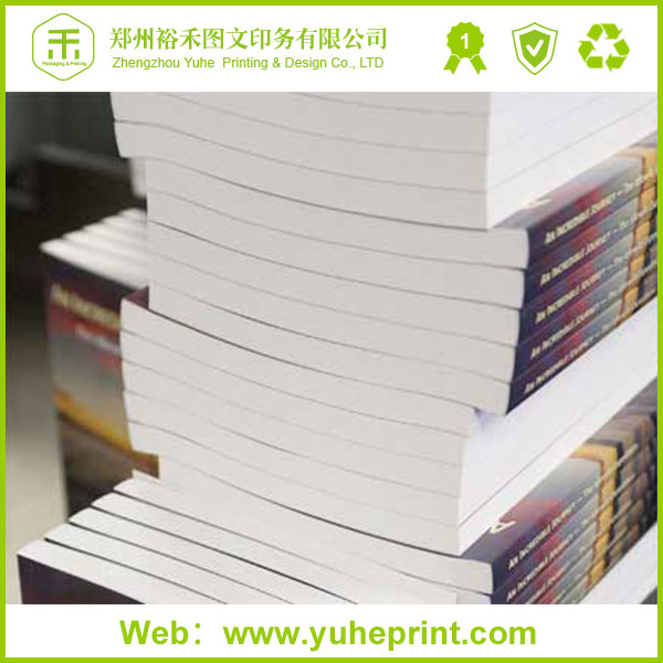 Custom print yoga book textbook school exercise book printing service