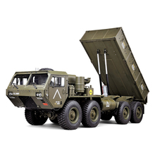 P801 Upgraded 1/12 2.4G 8X8 EP RC <strong>Car</strong> US Army Military Truck 5KG Load Capacity Dump Truck HG P803A