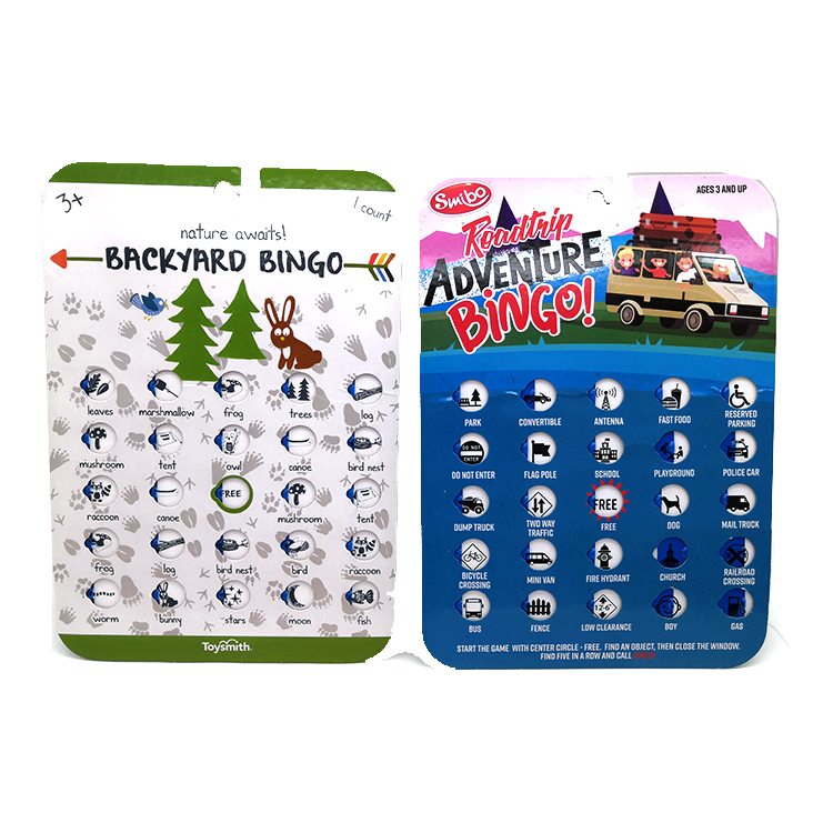 game card book for kids