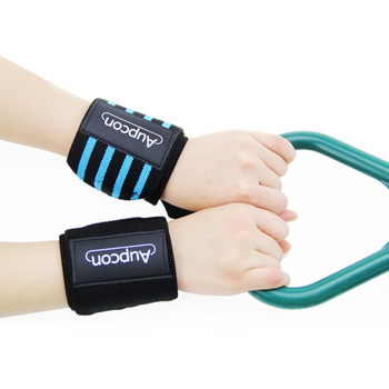 Support Wrist Wraps Brace with Thumb Loops for Weight Lifting Sports
