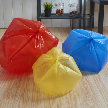 Rolls Tangjin Produce Clear Raw Material Pe Bag Outdoor Or Home Use Tear Off Tra