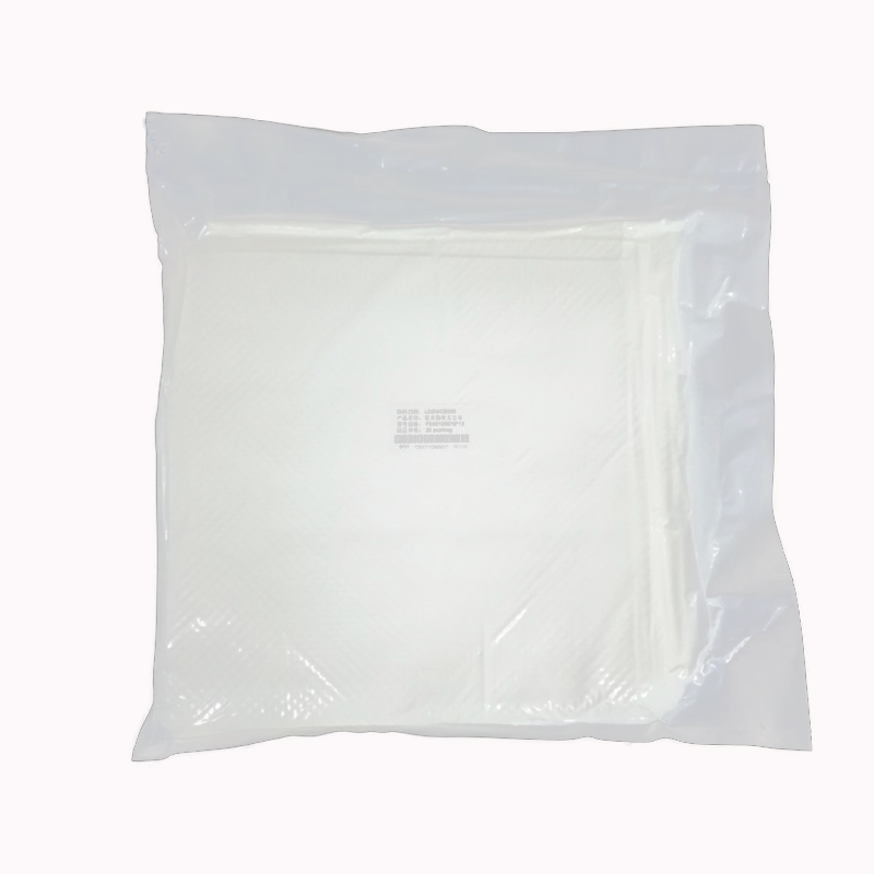 Lint Free 230gsm Multipurpose Cloth White 2 Layer 100% Polyester Car Cleaning Cleanroom Wiper Manufacturer