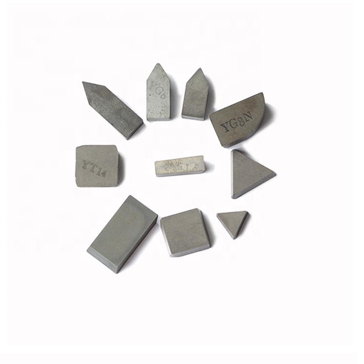 P30 ,YG6,YG8 C120,C125,A420,A425Z,B20,E20 tungsten cemented <strong>carbide</strong> brazed tips by KG price