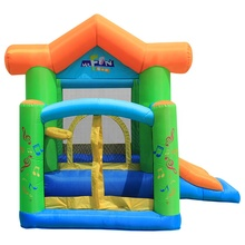 Small <strong>inflatable</strong> children's trampoline slide children's castle combo <strong>inflatable</strong> bounce house equipment