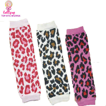 Wholesale Unisex Baby Leg Warmers Knit Leopard Animal design legwarmers Newborn photography props girls leg warmers