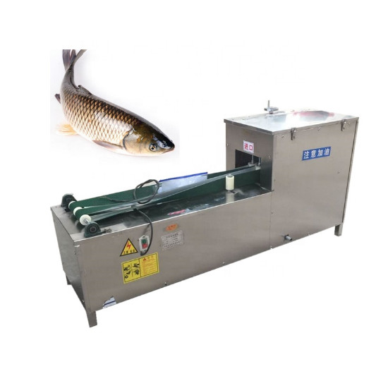 Killing fish and scaling cleaning machine fish gutter machine