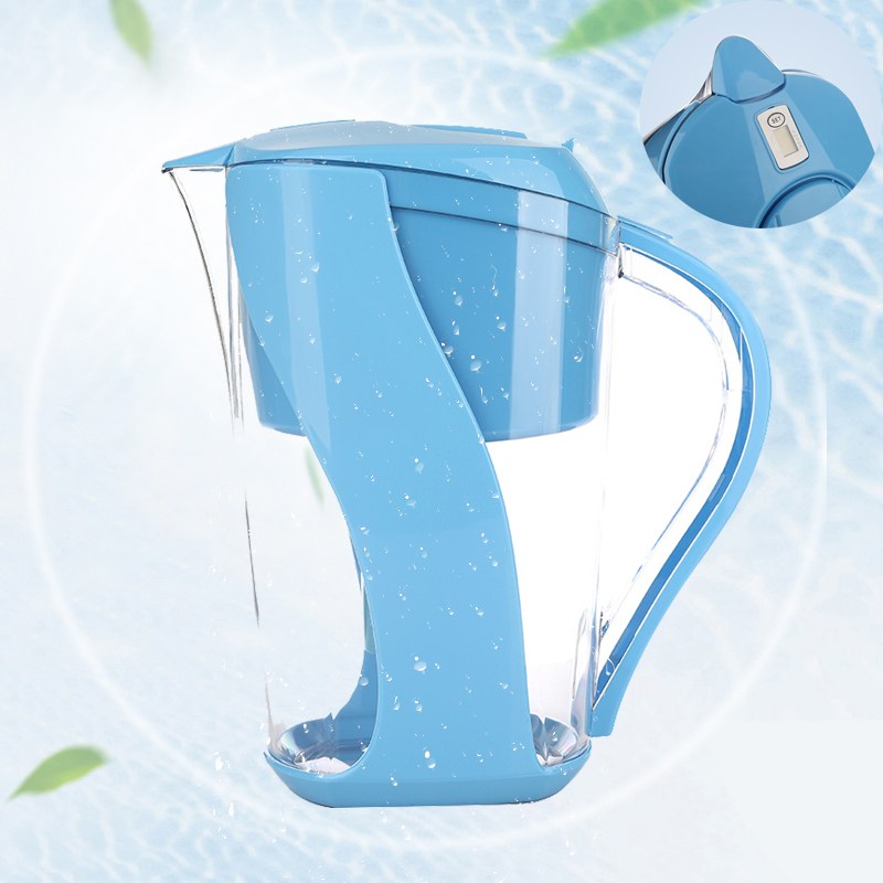 3.5 Liters Household Standard Alkaline Water Filter Pitcher BPA-Free with 6-Stage <strong>Filtration</strong>