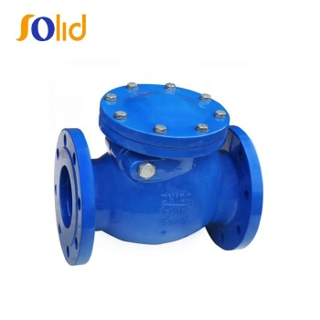 BS5153 Ductile Cast Iron Flanged Swing Check Valve PN16